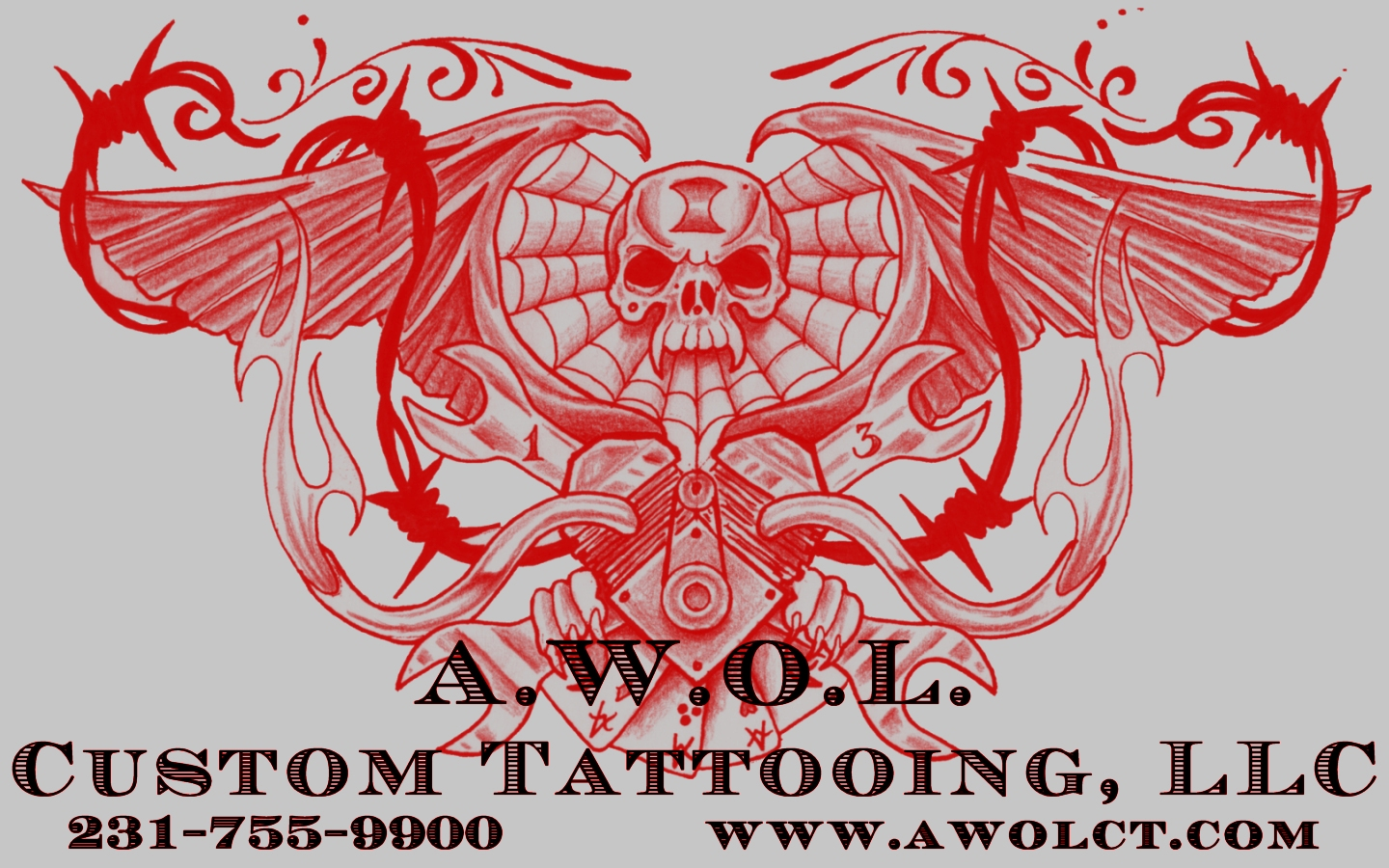 Media_A.W.O.L. Custom Tattooing, LLC located in Muskegon, Michigan ...